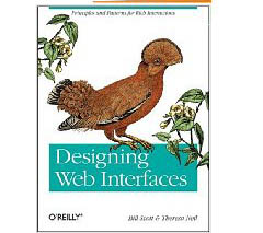 Portada del libro Designing Web Interfaces