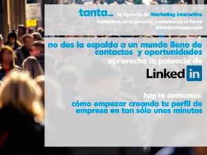 Manual básico para crea el perfil de tu empresa en Linkedin