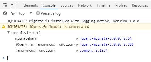 Archivo y línea de código donde se encuentra la función obsoleta